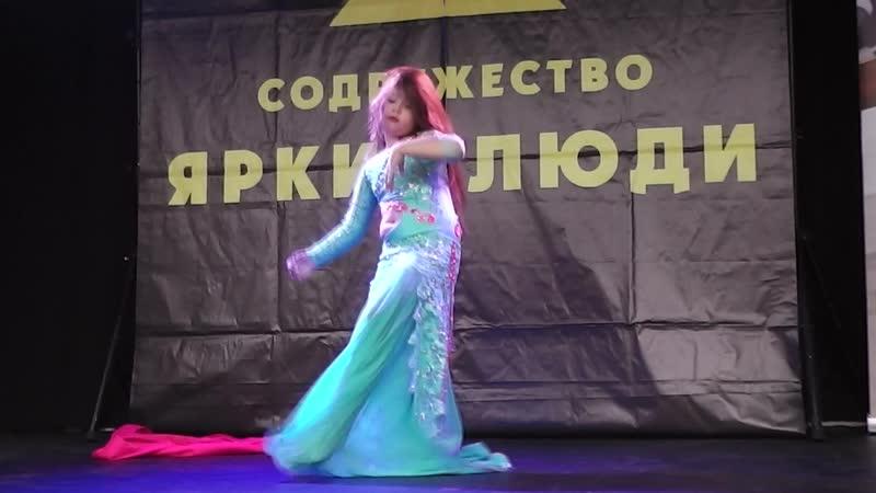 Огнева Ангелина классика 2 танец Корона востока ТС Шакира 2019