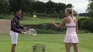 Djokovic vs. Sharapova: The Challenge