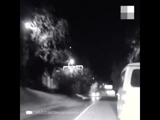 Погоня за пьяным водителем в Каменске-Уральском