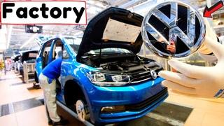VOLKSWAGEN ASSEMBLY LINE 2021😲: Production line VW plant – Golf, Tiguan, Passat, Beetle, Polo (HD)