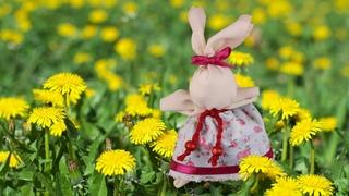 DIY Easter Bunny Easter decor 2020