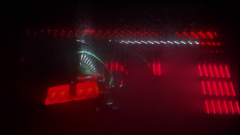 Space odyssey 2001 point cloud trace rays glsl