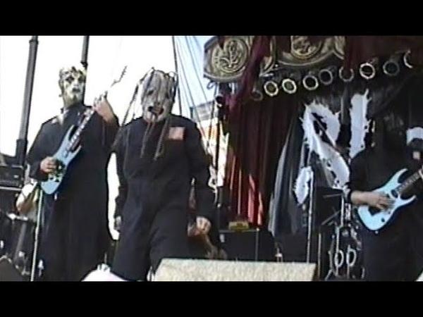 Slipknot - Ozzfest, West Palm Beach, FL, USA [1999.05.27] Live Interview