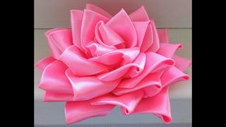 Пышная Роза Канзаши