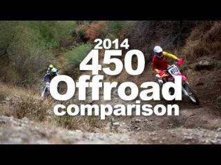Dirtbike Magazine's 2014 450 Offroad Comparison