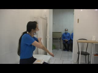 В Пушкине военнослужащим поставили прививки от коронавируса