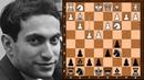 Mikhail Tal Q side counterplay Arne Burehall vs Mikhail Tal Stockholm 1961