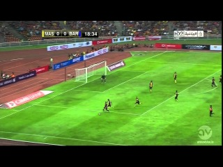 Malaysia XI vs Barcelona - Full Match  Friendly HD | 1st half