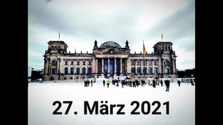 ❓Vereinigung❓= Auf zum Reichstag nach Berlin 27. März 2021 FÜR #Freiheit #Frieden #Volksherrschaft❗️
