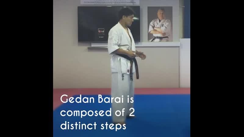 Gedan Barai Applications